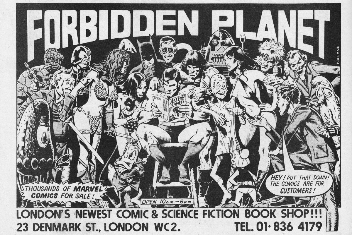 Zwiedzamy: Forbidden Planet London & Orbital Comics