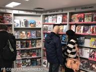 Półka z promocjami, nowściami i najpopulerniejszymi komiksami