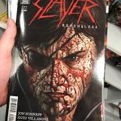 """Komiks z kapelą """"Slayer"""""""