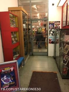 magazyn 2000AD obchodził ostatnio 40-lecie istnienia, widać to na każdym kroku w tym lokalu