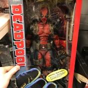 Wielka figurka Deadpoola
