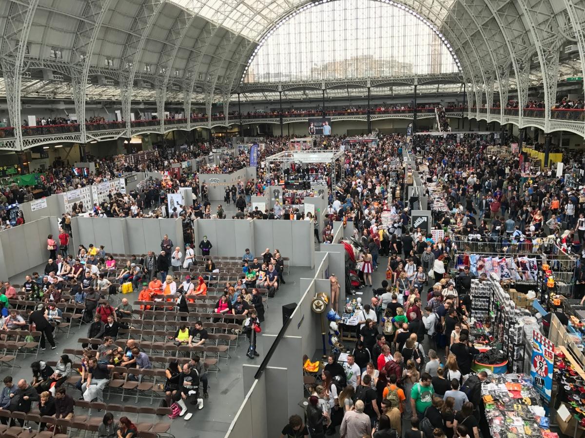 Zwiedzamy: London Film & Comic Con 2017