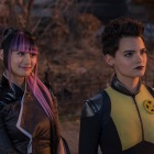 DF-49136 – Shioli Kutsuna and Brianna Hildebrand (Negasonic Teenage Warhead) in Twentieth Century Fox's DEADPOOL 2. Photo Credit: Joe Lederer.